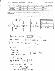 ENGR 210 Fall 2016 Quiz 2 Solutions