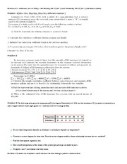 Sample Correlation Problems and Solutions