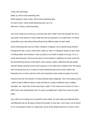 Blog Post 2 - 2 days with technology