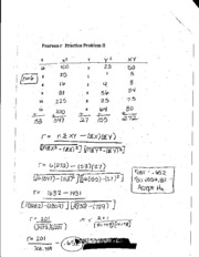 Pearson r Practice Problems