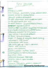 Hepatic Test Review Notes