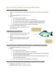 Ecology Class Notes Week 4