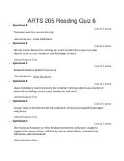 ARTS 205 Reading Quiz 6.pdf