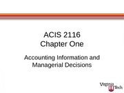 ACIS 2116 Chapter 1 Slides