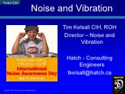 L9_Kelsall Noise and Vibration