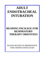 Adult Intubation Reading Package (1).doc