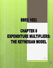 Chapter 8 Expenditure Multipliers The Keynesian Model.pdf
