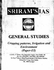 Copy of S  CROPPING  PATTERNS,  IRRIGATION  &  ENVIONMENT  PAPAR --III.pdf