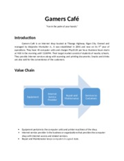 Gamers Cafe