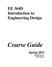 EE 364D Spring 2015 Course Guide