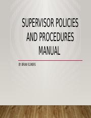 Supervisor Policies and Procedures manual.pptx