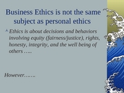 #15 Business Ethics