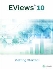 EViews 10 Getting Started.pdf