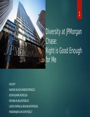 Group F_JPMorgan pptx - 1 Diversity at JPMorgan Chase Right
