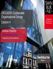 Lecture 4_Structure in Organisations(1)