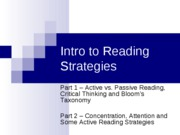 introduction to college reading ENGL_106-lecture_2_spring2009