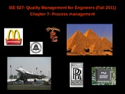 quality management for engineers_chapter7