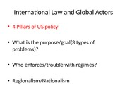 International Law and Global Actors chapter 5