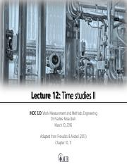 Lecture 12 - Time studies II.pdf