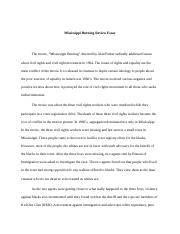 mississippi burning essay mississippi burning review essay the mississippi burning essay mississippi burning review essay the movie mississippi burning directed by alan parker radically addressed issues about