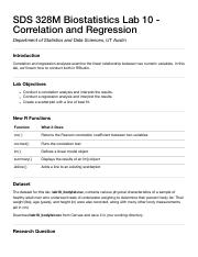 Lab 10 - Correlation and Regression.pdf