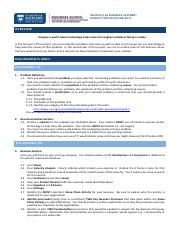 INFOSYS110 Project Specification
