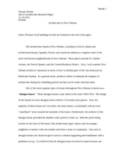New Orleans Research Paper