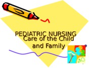 16218928-Module-09Pediatric-Nursing