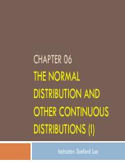 06. The Normal Distribution and Other Continuous Distributions_1.pdf