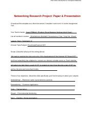 CSCI4211NetworkingResearchReportPaperScopeandObjectives.docx
