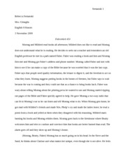 guy montag as a hero essay View essay - fahrenheit 451 essay from english english 1 at rosary high  in  the book of fahrenheit 451 by ray bradbury, guy montag is a.