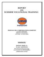 REPORT_ON_SUMMER_VOCATIONAL_TRAINING_IND