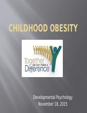 Childhood obesity.pptx