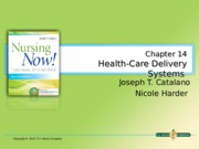 Ch14_Health Care Delivery System (1)