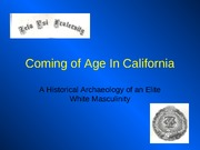 Coming+of+Age+In+California4 교수꺼