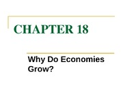 chapter 18 why do economies grow