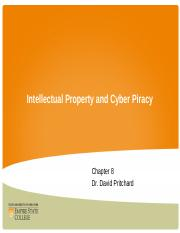 Chapter 8 Intellectual Property and Cyber Privacy.ppt
