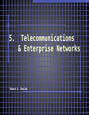 05  Telecommunications & Enterprise Networks(2)
