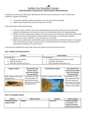 6-3 Realism Impressionism and the Modern World Worksheet.docx