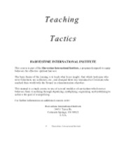 50244438-Teaching-Tactics