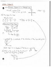 Lecture 6 Notes 1