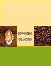 Case Study Coffee Selling