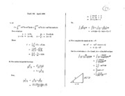Math 101 Apr 90 Solutions