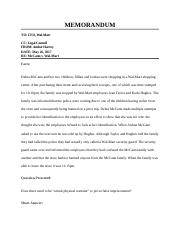 2 Assignment 2-4 Case Study Memo Template and Case.docx