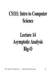 lecture14--Asymptotic Analysis, Big O.pdf