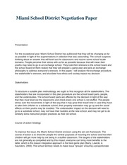 miami school district negotiations essay Pacific oil and reliant chemicals negotiations essays and term papers available pacific oil and reliant chemicals miami school district negotiation.