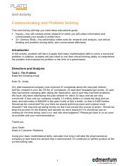 Communicating and Problem Solving_UA.docx