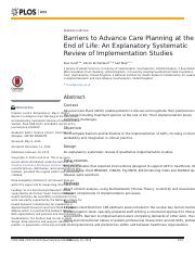 barriers to advance care planning at the end of life.PDF