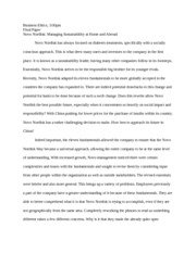 novo nordisk essay Write a report outline to support why the client company (choose from the following: genentech, chg healthcare services, nustar energy, stryker, hilcorp energy company, salesforcecom, ari.
