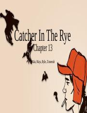 catcher in the rye chapter 13.pptx
